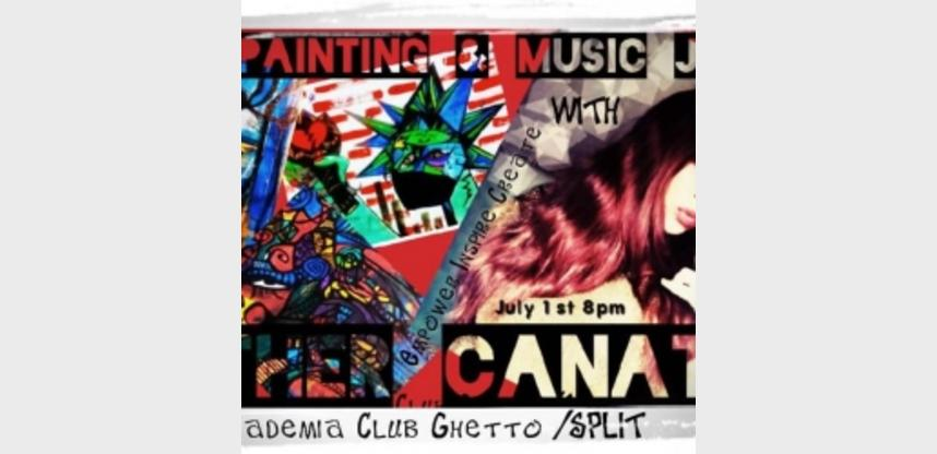 CANATA LIVE PAINTING